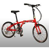 VIVA Camaro Alloy 2030A 30sp [Y2220] - Red - Sepeda Lipat / Folding Bike